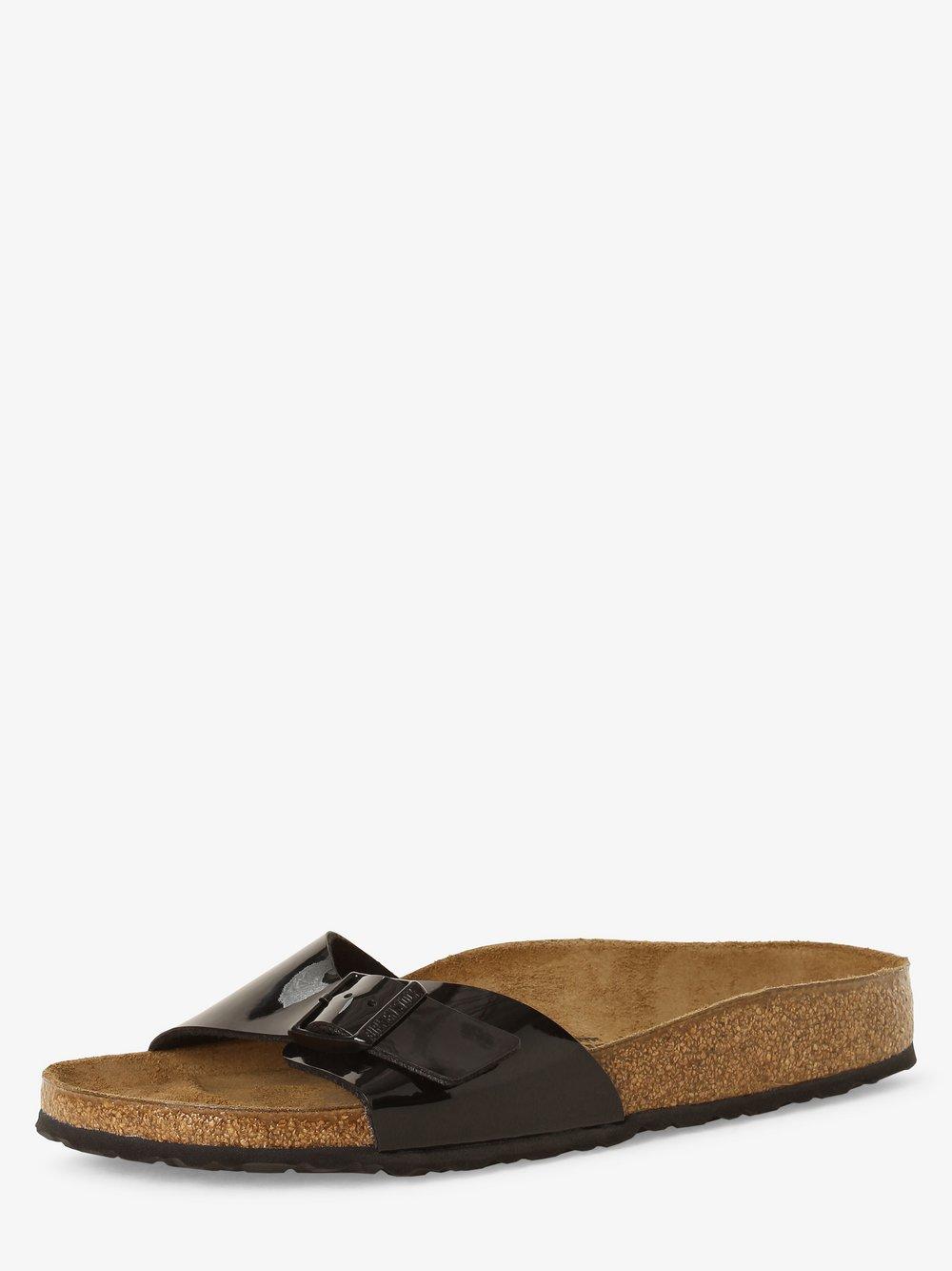 Birkenstock - Sandały damskie z dodatkiem skóry – Madrid BS, czarny