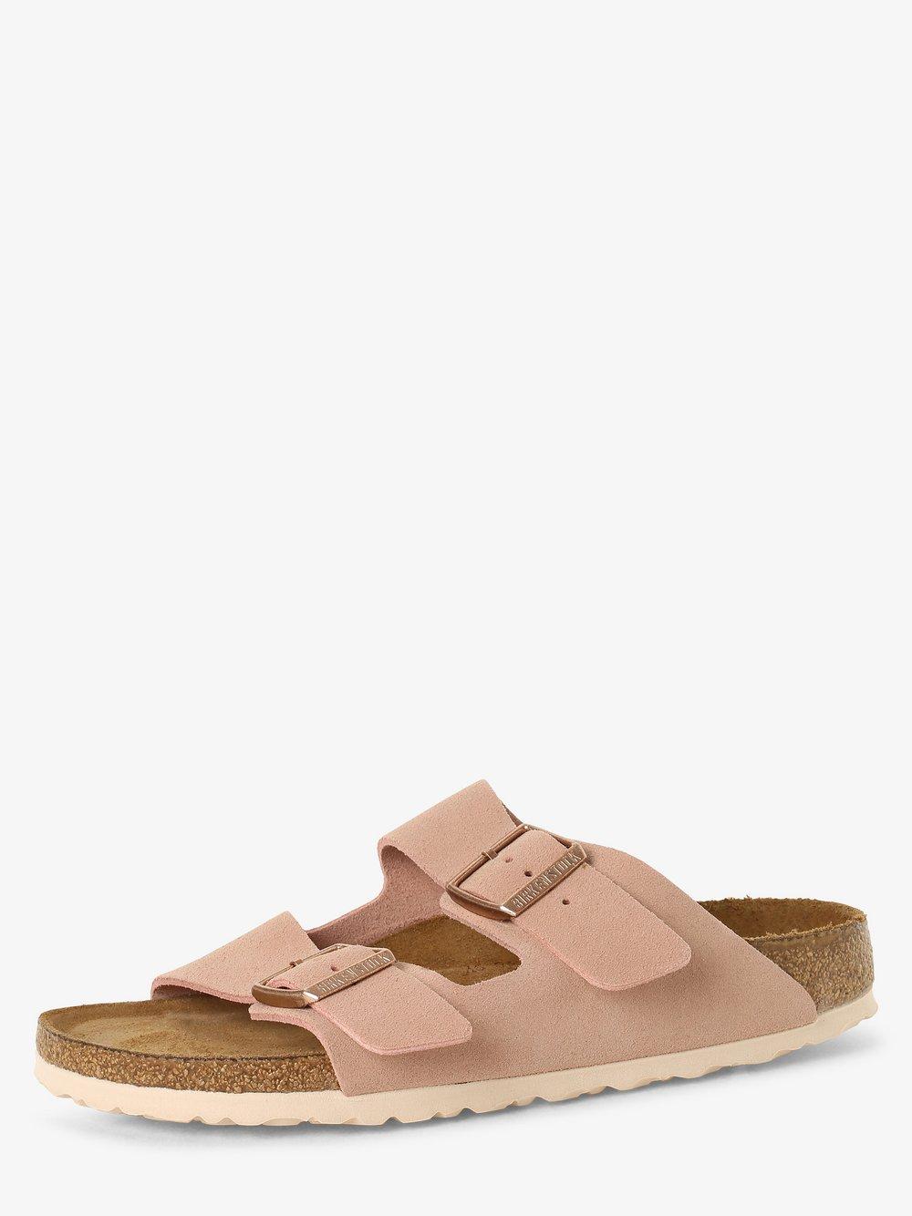 Birkenstock - Sandały damskie ze skóry – Arizona BS, różowy