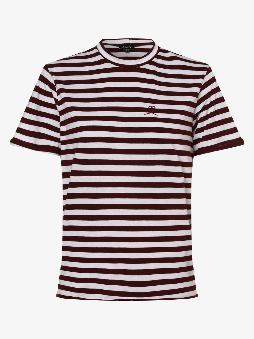Aygill's - T-shirt damski, czerwony