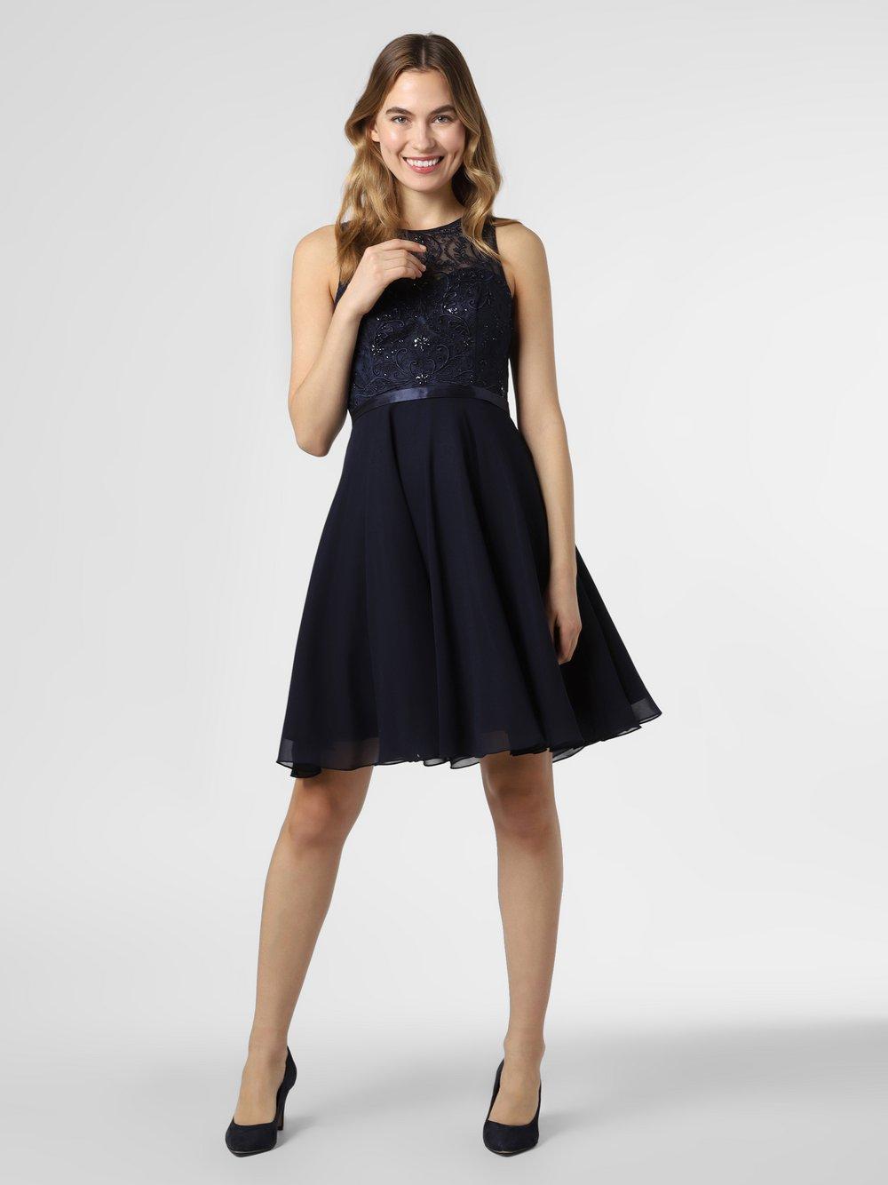 Luxuar Fashion – Sukienka damska, niebieski Van Graaf 459224-0001-00340