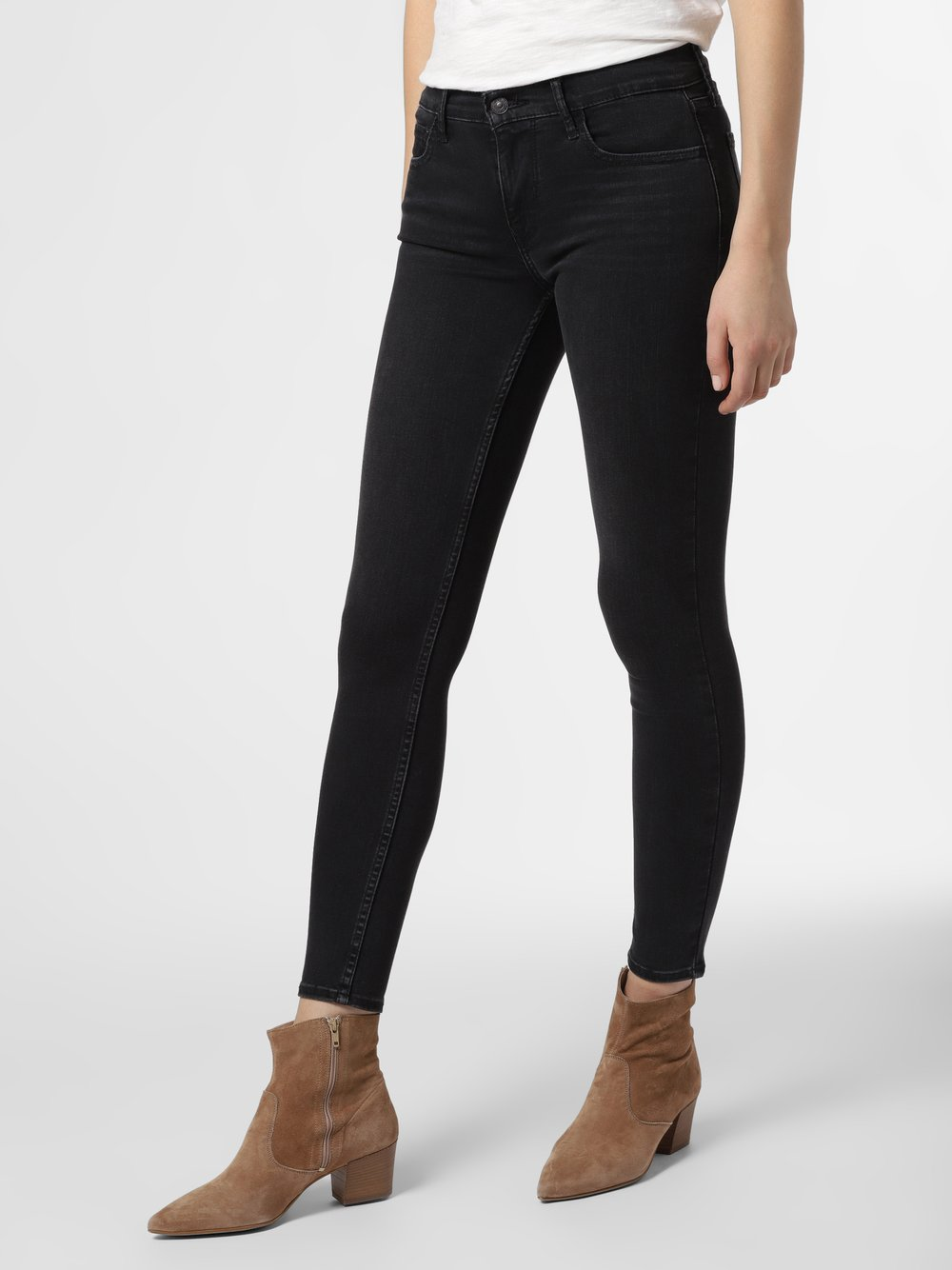 Levi's - Jeansy damskie – 710™ Super Skinny, szary
