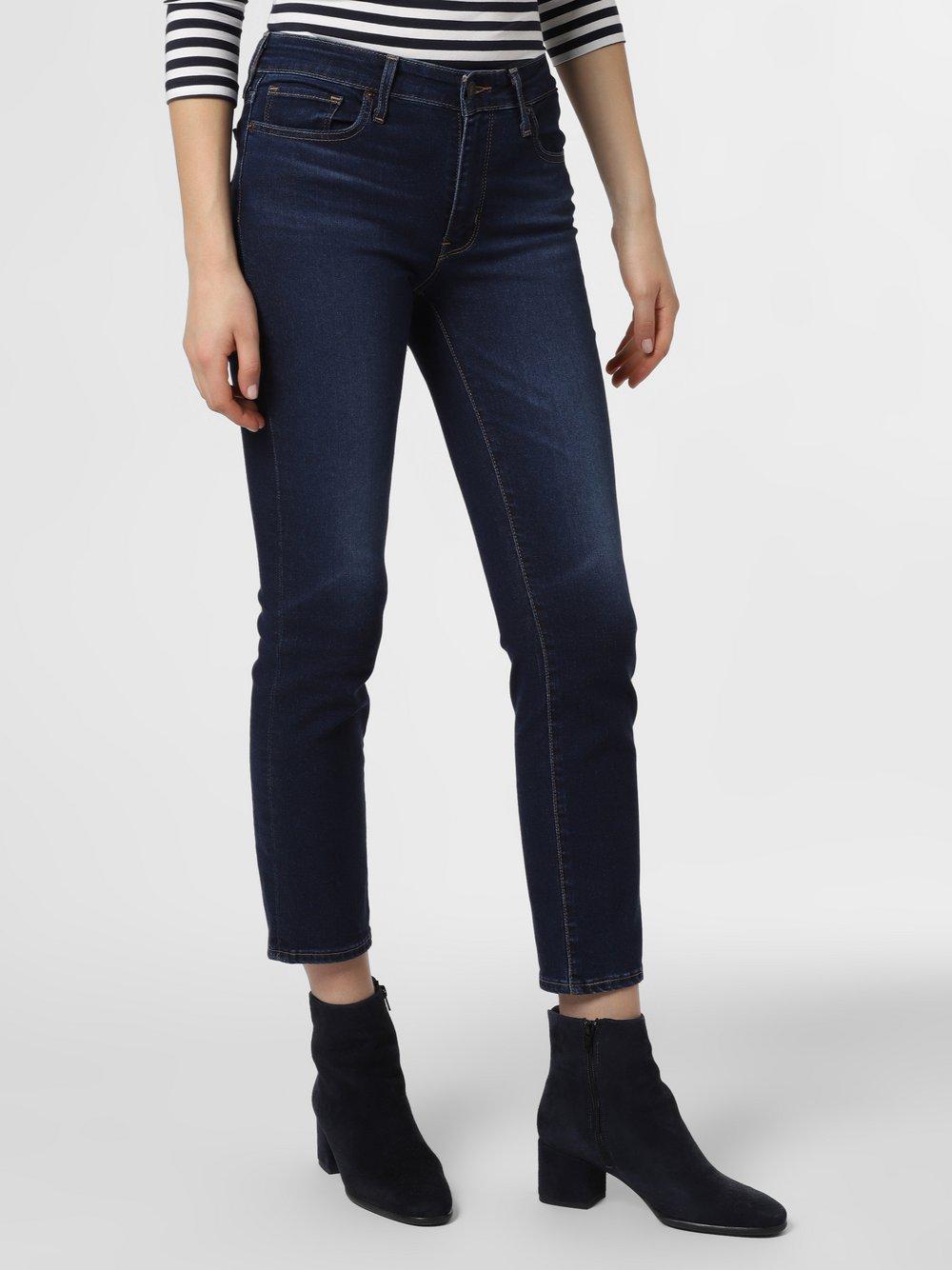 Levi's - Jeansy damskie – 712™ Slim, niebieski