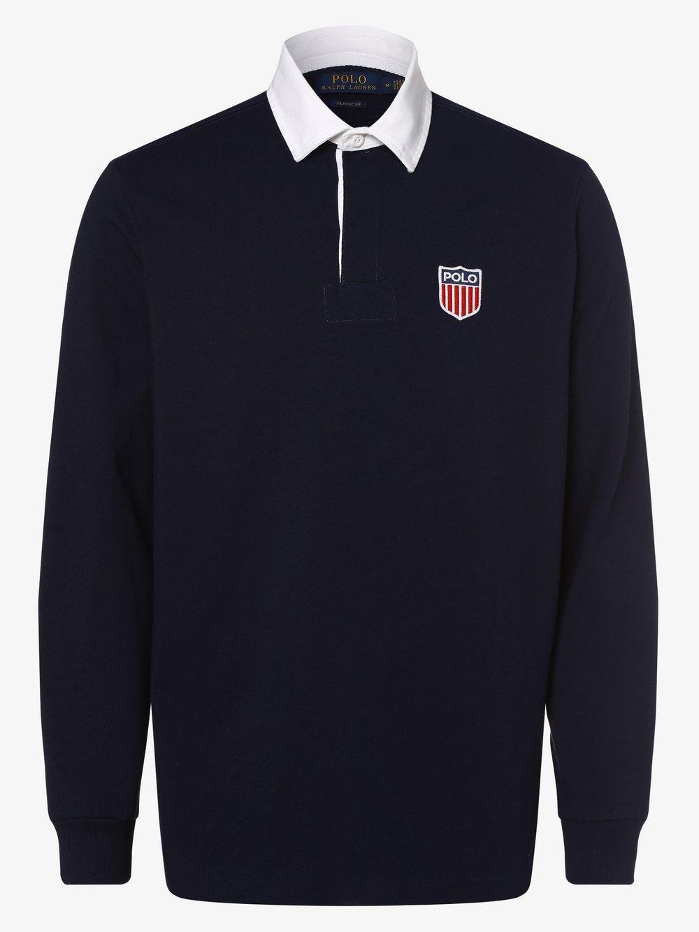 Polo Ralph Lauren - Męska bluza nierozpinana, niebieski
