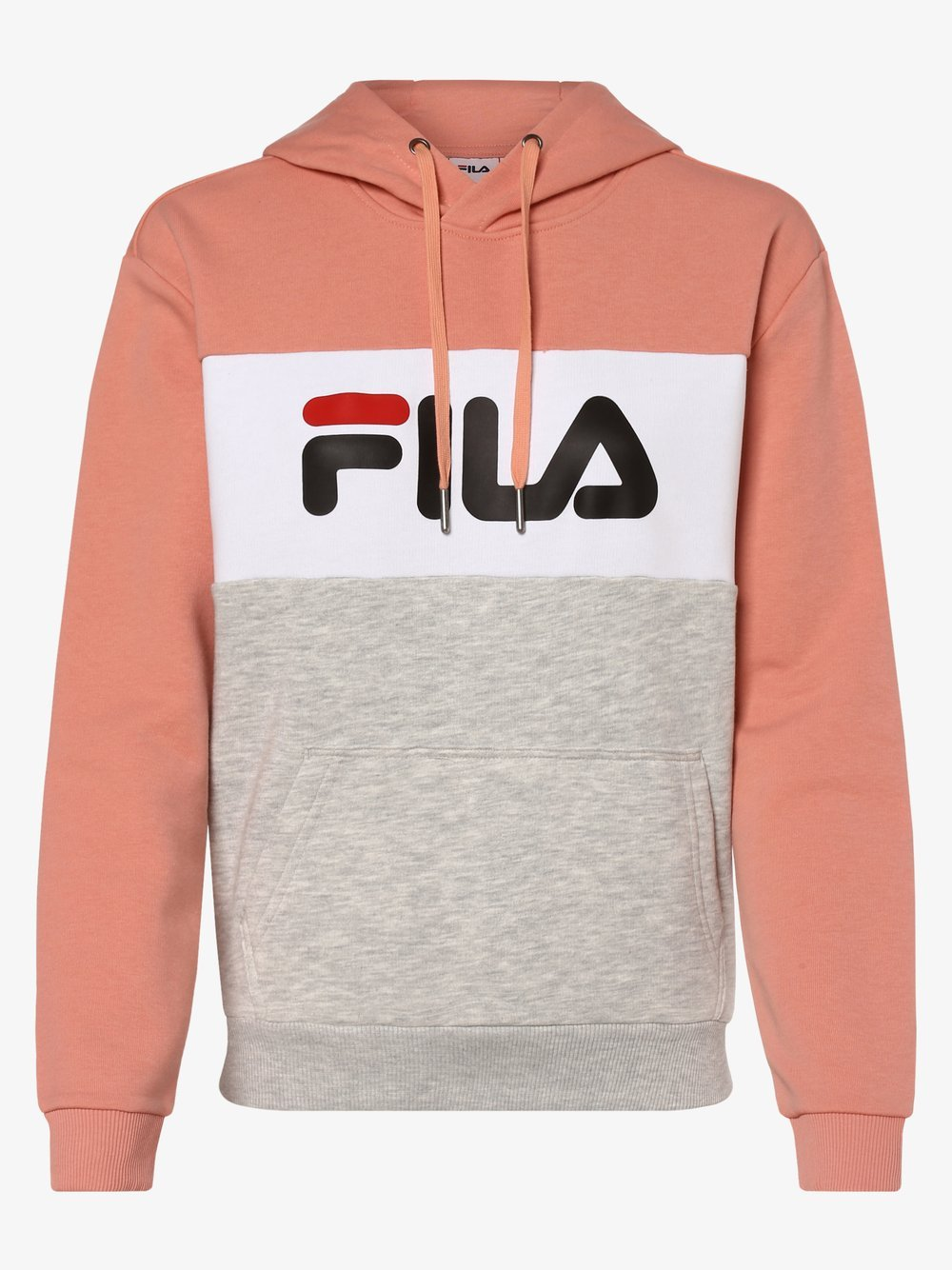 FILA - Damska bluza nierozpinana – Lori, pomarańczowy