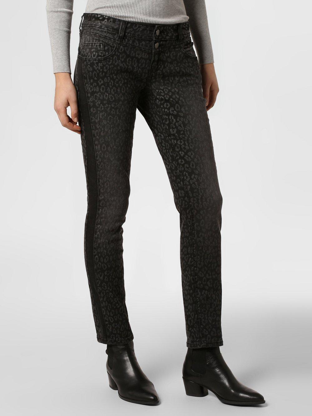 Street One – Spodnie damskie – Crissi, czarny Van Graaf 459577-0001-03030