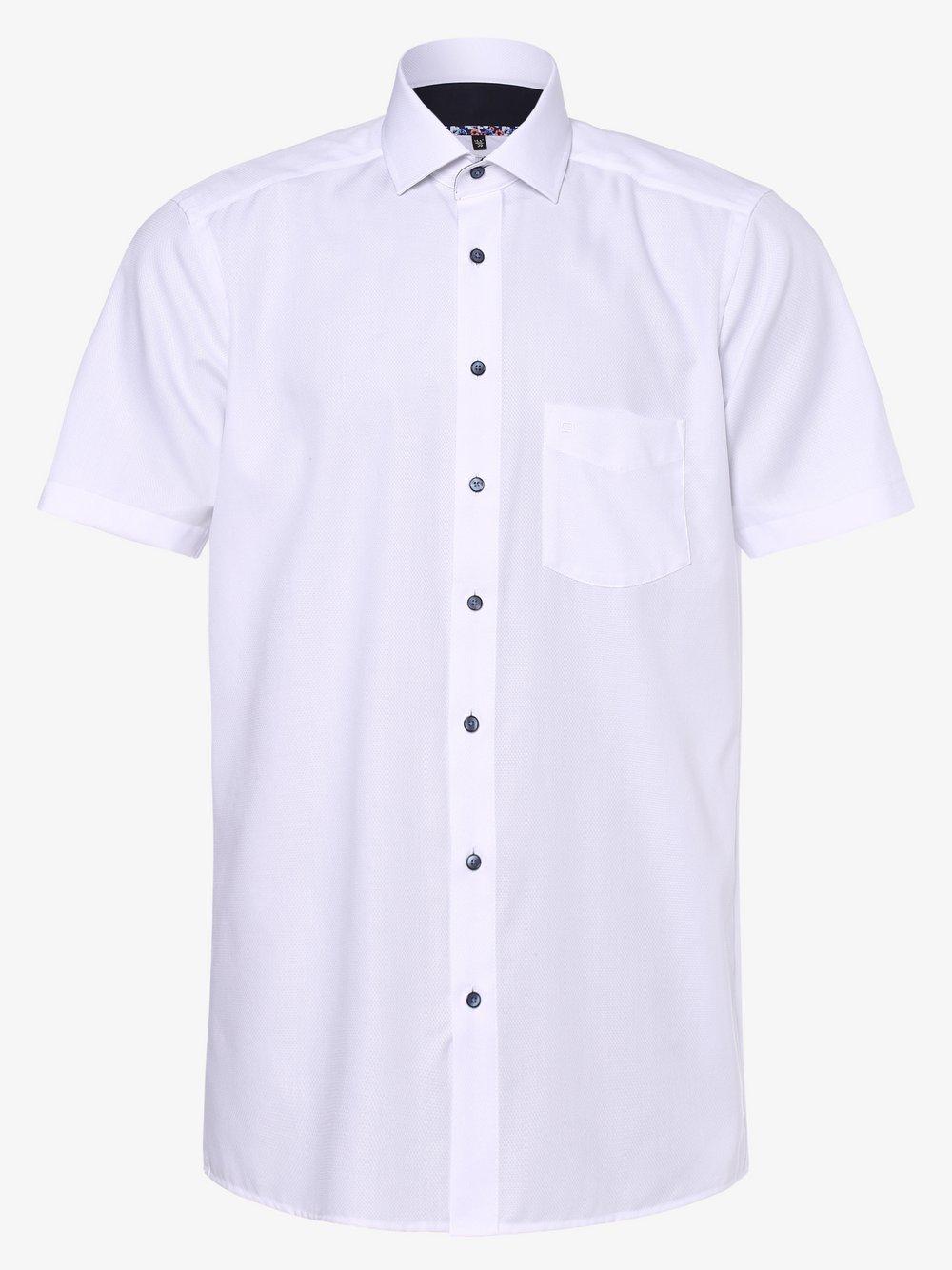 OLYMP Luxor modern Fit - Koszula męska – niewymagająca prasowania, biały