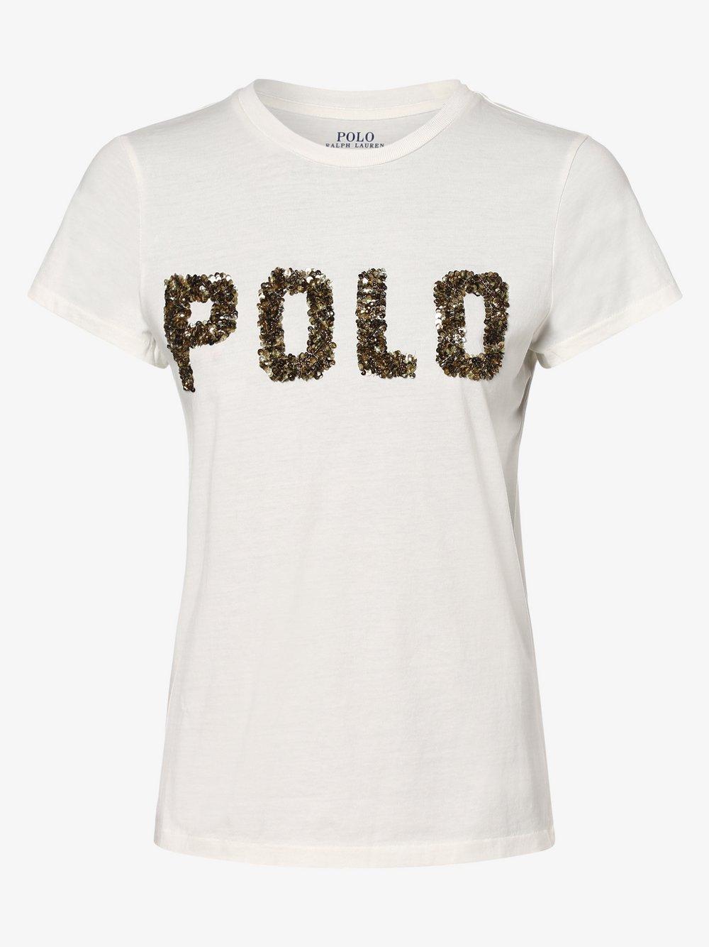 Polo Ralph Lauren - T-shirt damski, beżowy