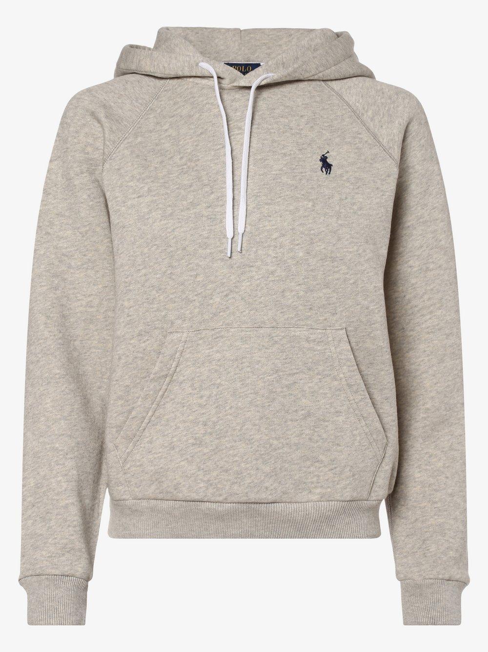 Polo Ralph Lauren - Damska bluza nierozpinana, szary