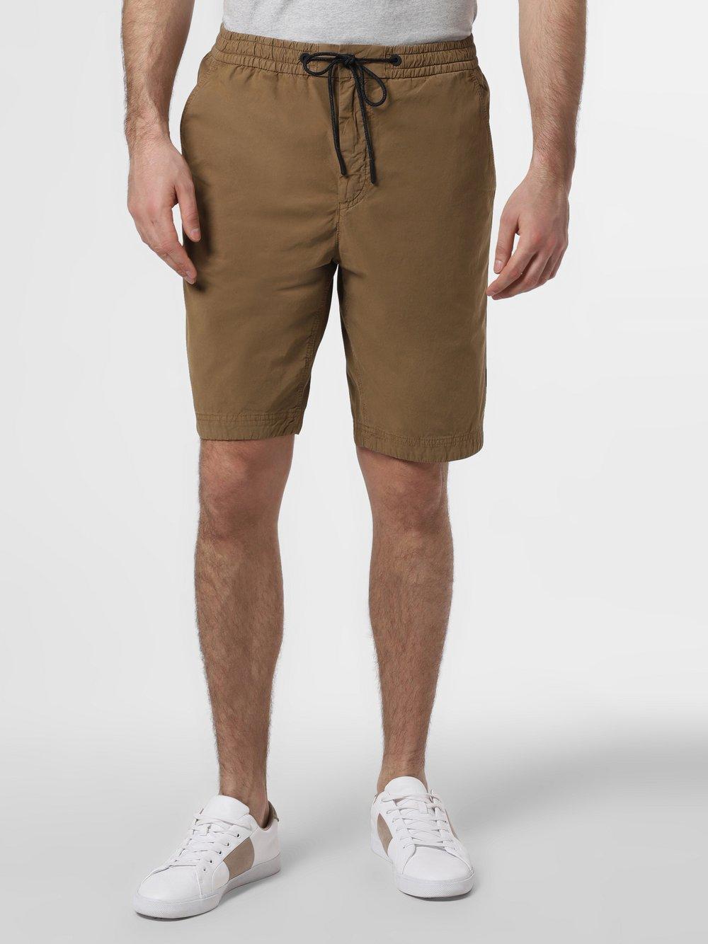 BOSS Casual - Spodenki męskie – Sabriel-Shorts, beżowy