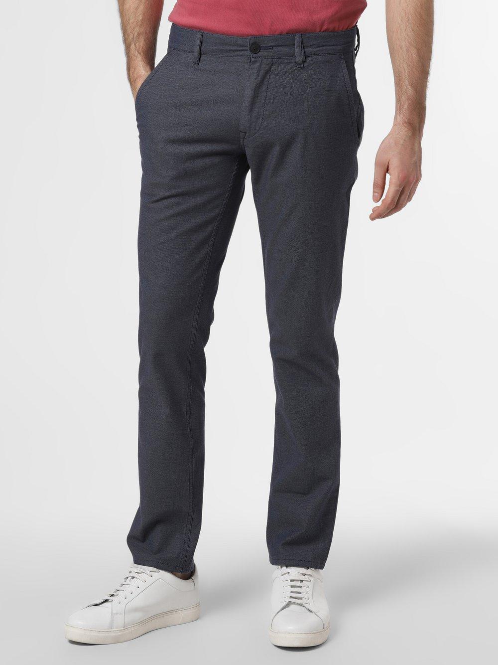 BOSS Casual – Chinosy męskie – Schino-Slim, niebieski Van Graaf 460330-0001-03232