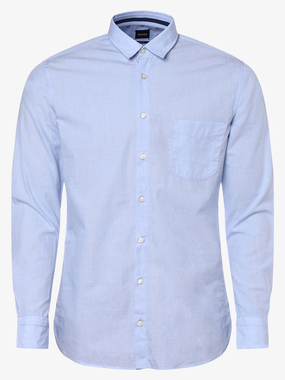 BOSS Casual - Koszula męska – Magneton_1, niebieski