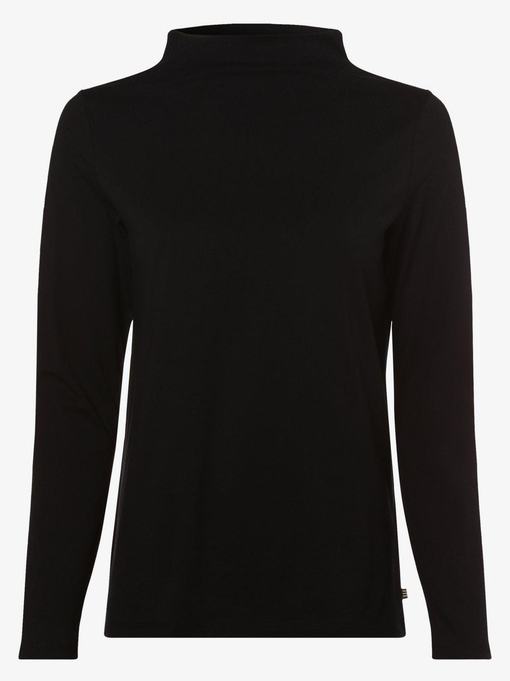 Esprit Casual – Damska koszulka z długim rękawem, czarny Van Graaf 460530-0001-09920