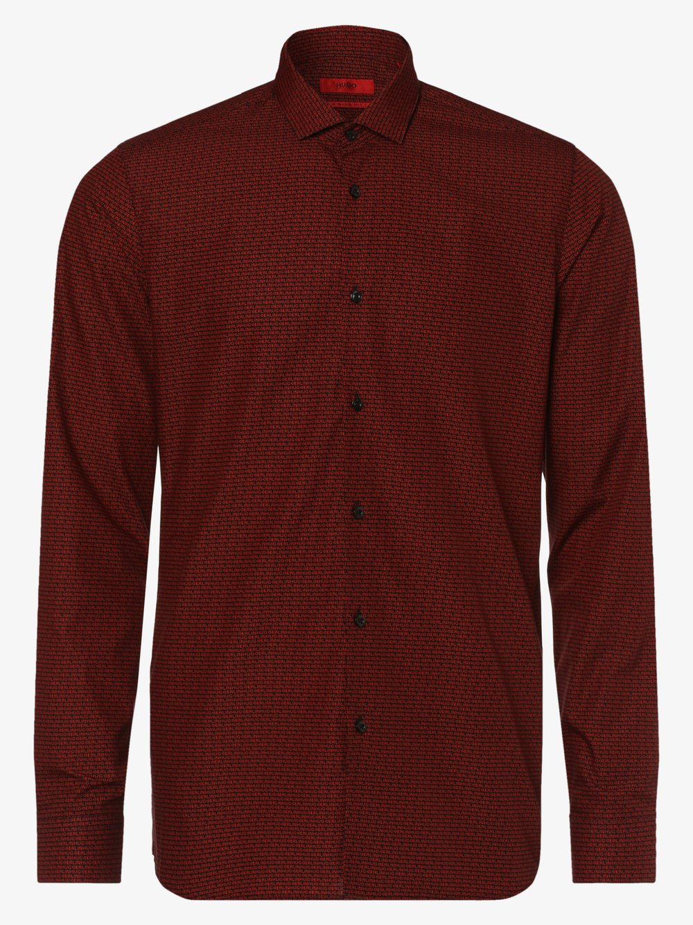 HUGO - Koszula męska – Erondo, czerwony