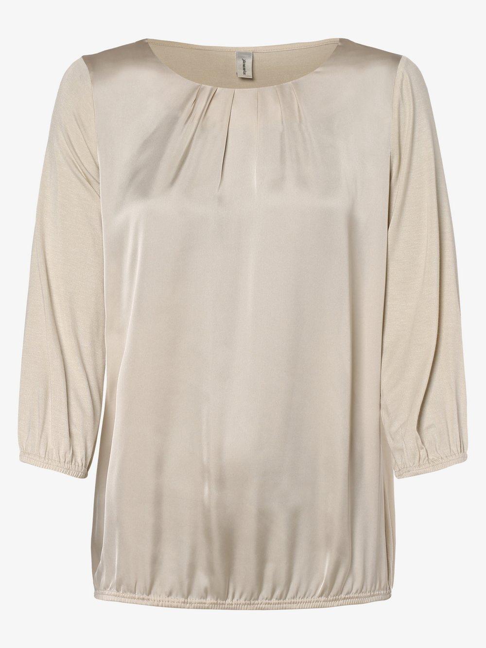 soyaconcept® – Damska koszulka z długim rękawem – Thilde, beżowy Van Graaf 460882-0001-09970