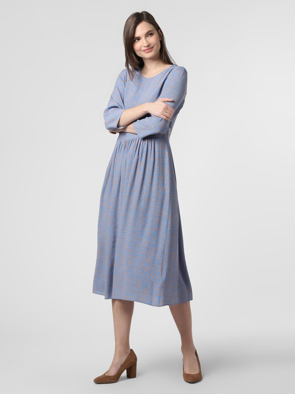 Marc O'Polo Denim – Sukienka damska, niebieski Van Graaf 460897-0001