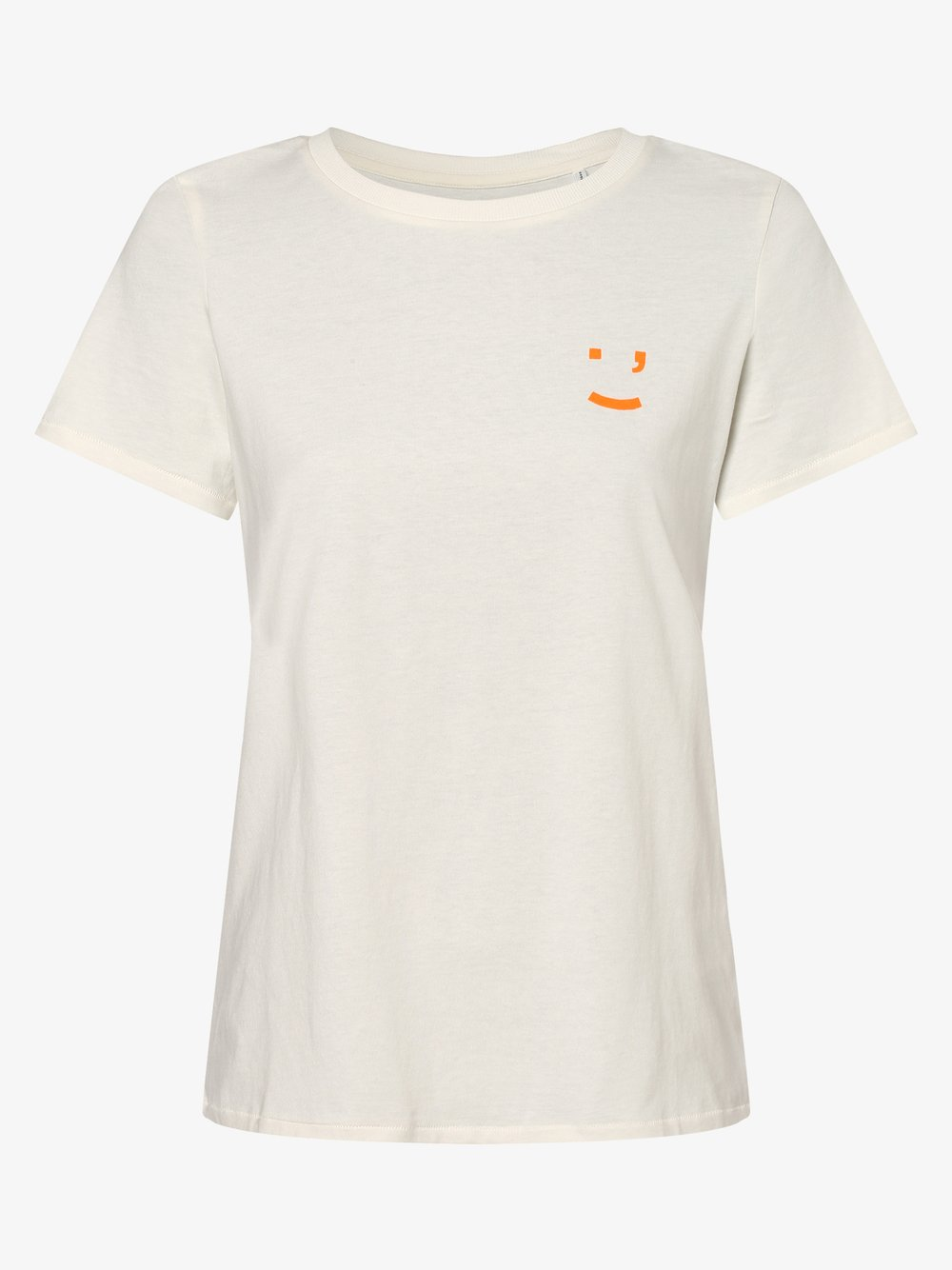 Marc O'Polo Denim – T-shirt damski, biały Van Graaf 460921-0001-09920