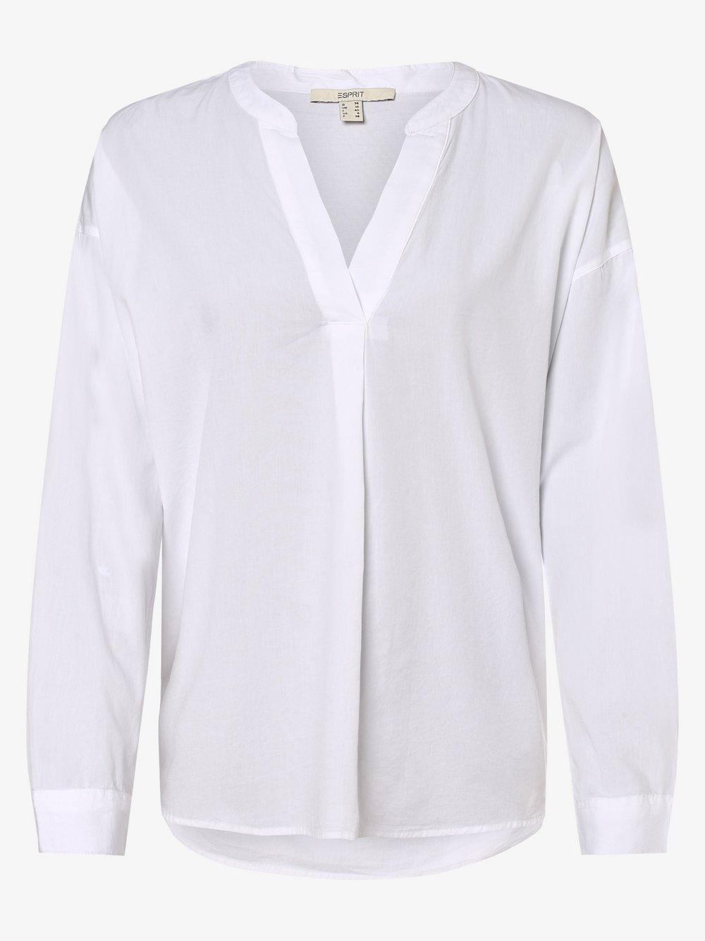 Esprit Casual – Bluzka damska, biały Van Graaf 460960-0001-00400