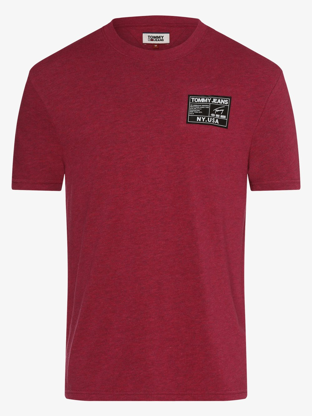 Tommy Jeans - T-shirt męski, różowy