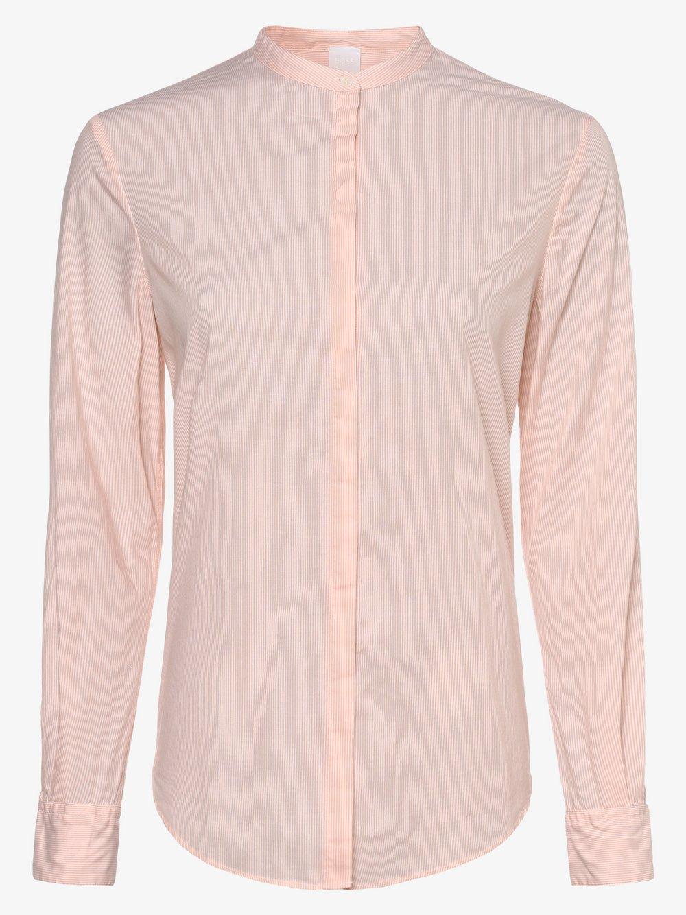 BOSS Casual – Bluzka damska – Efelize_17, różowy Van Graaf 461094-0001-00380