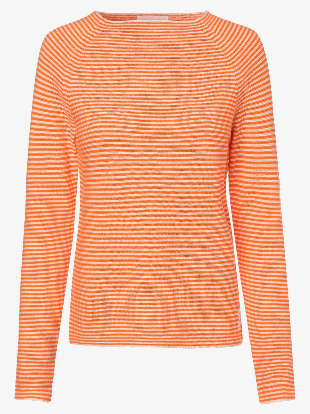 Marc O'Polo Denim – Sweter damski, pomarańczowy Van Graaf 461117-0001-09960