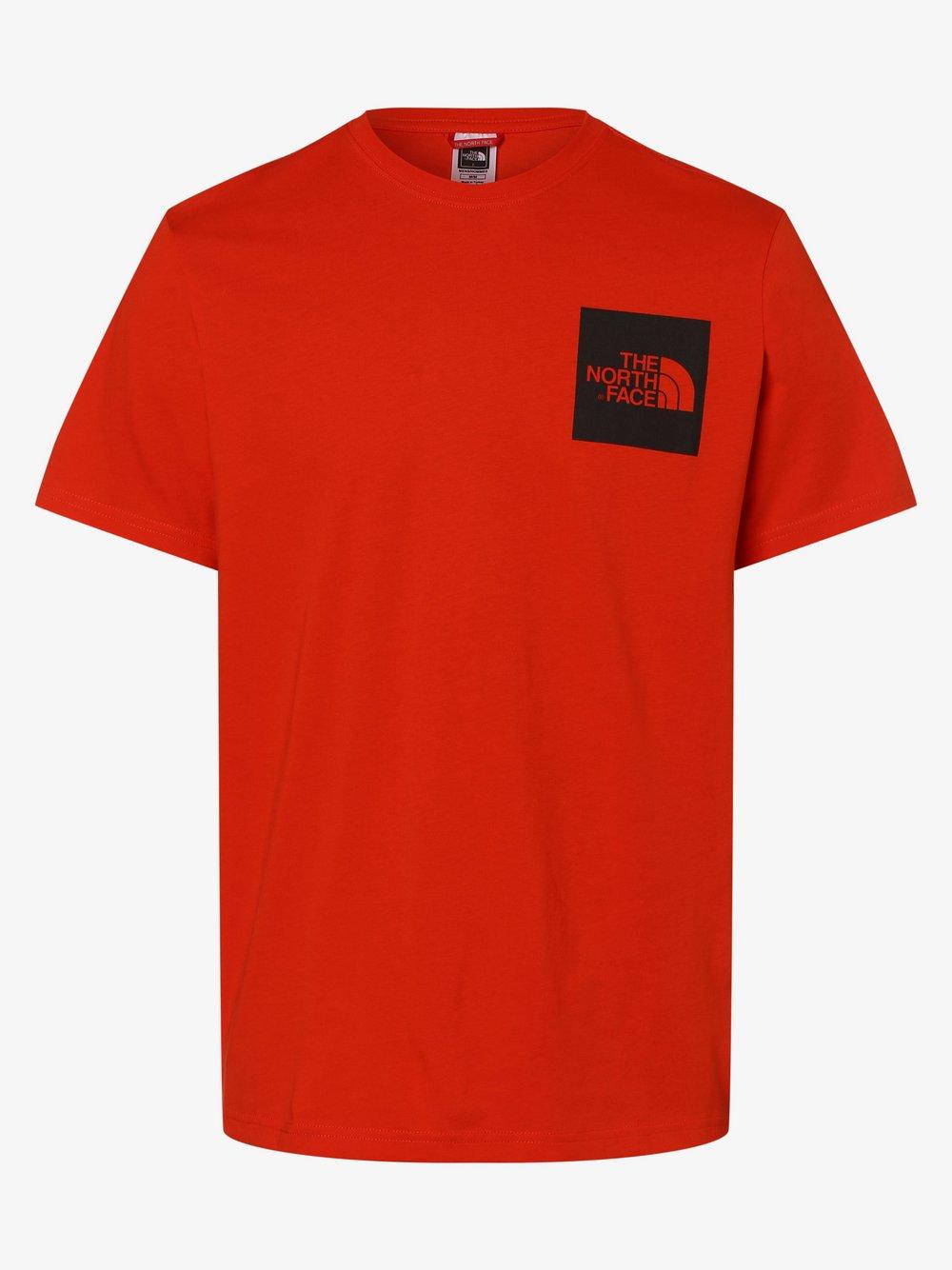 The North Face - T-shirt męski, czerwony