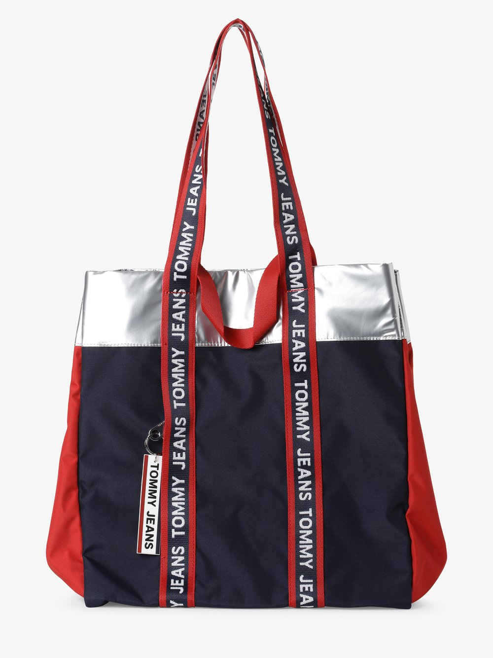 Tommy Jeans - Damska torba shopper, niebieski