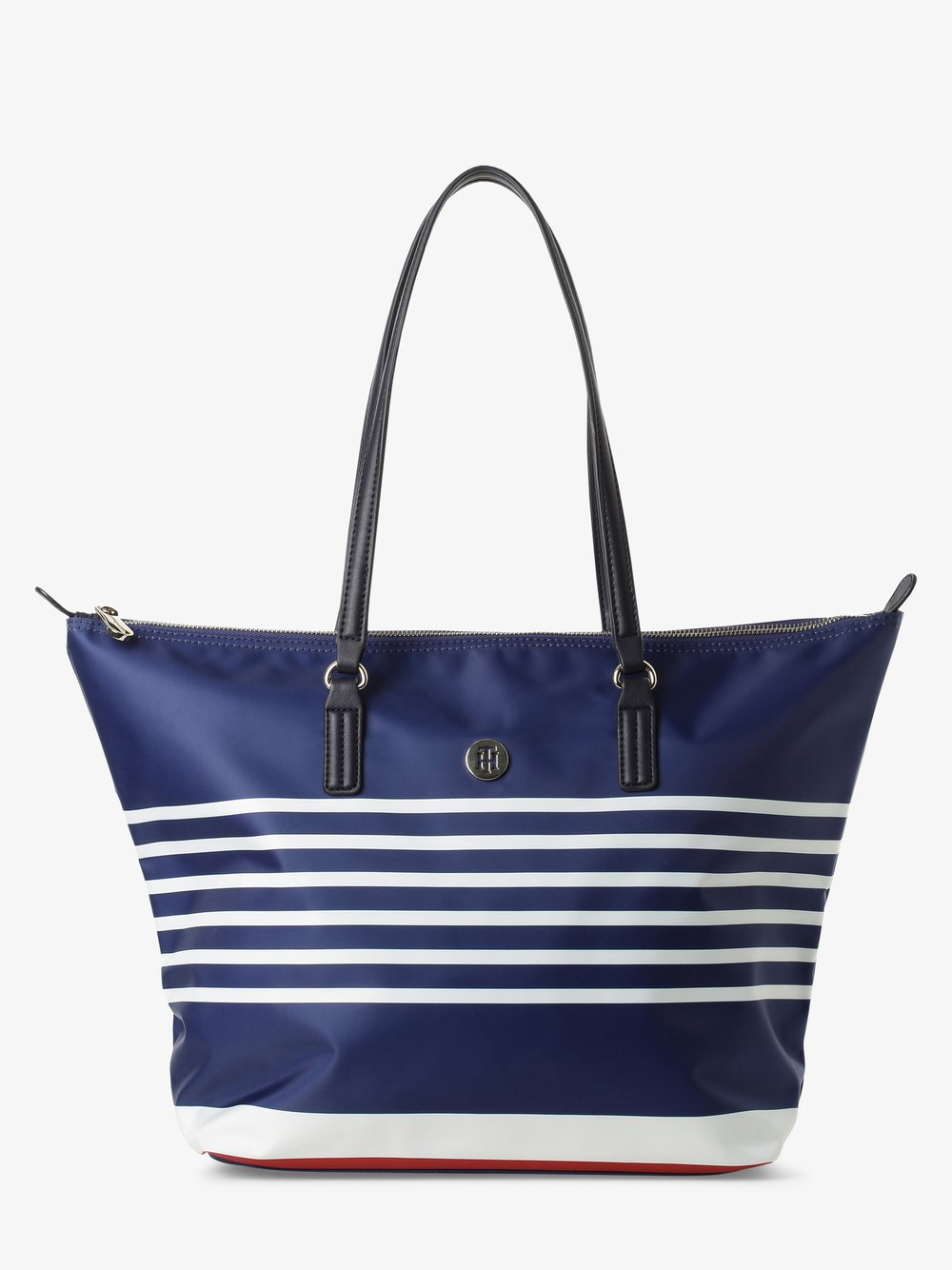 Tommy Hilfiger - Damska torba shopper, niebieski