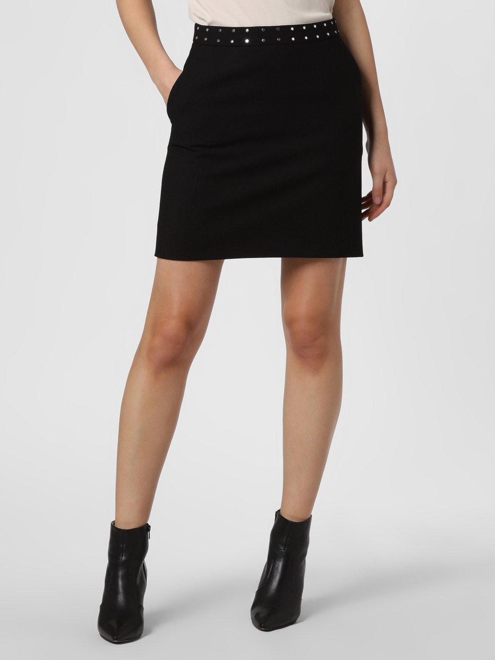 HUGO - Spódnica damska – Riata, czarny