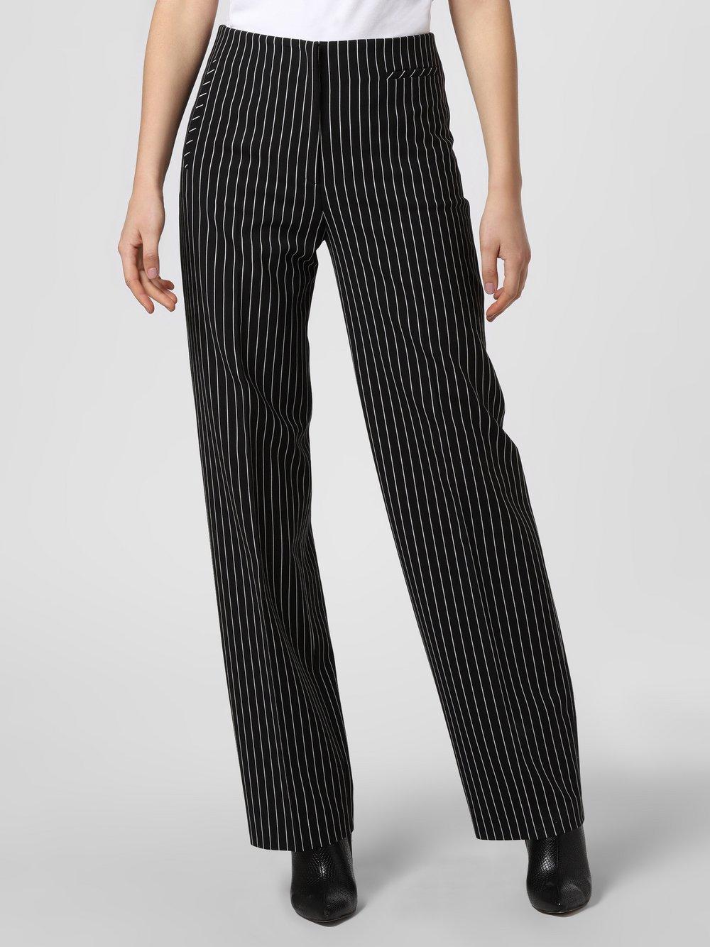 HUGO - Spodnie damskie – Hedire, czarny