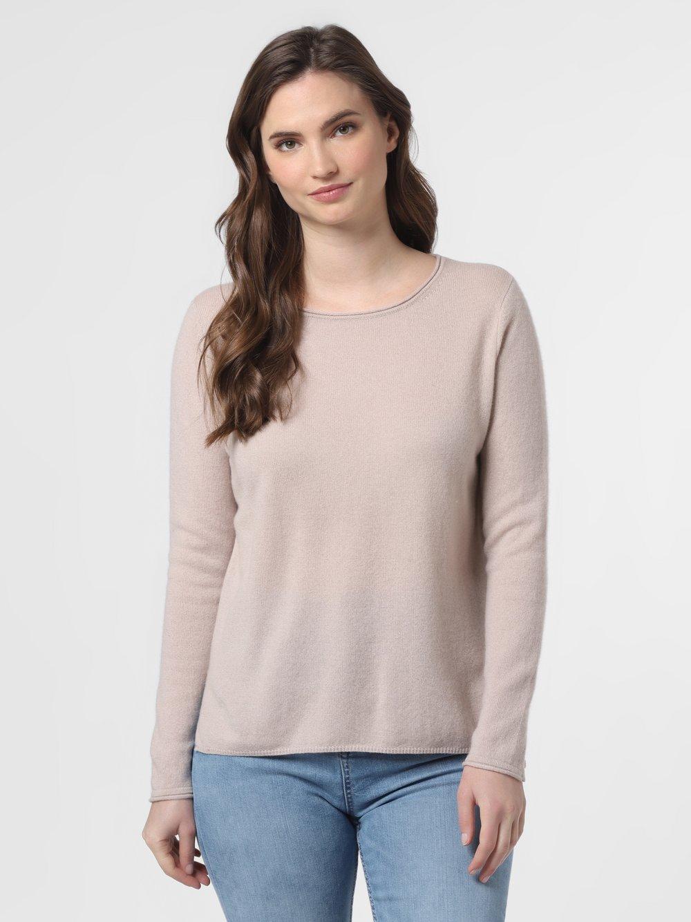 SvB Exquisit – Sweter damski z czystego kaszmiru, beżowy Van Graaf 461335-0003-00340