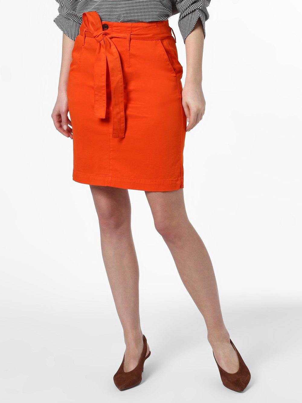 BOSS Casual – Damska spódnica – Briella-D, pomarańczowy Van Graaf 461336-0002-00380