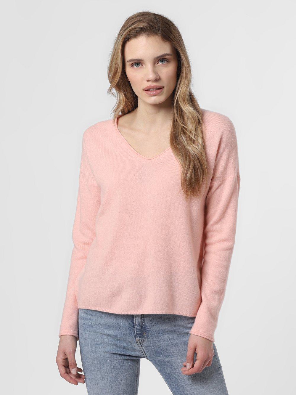 SvB Exquisit – Sweter damski z czystego kaszmiru, pomarańczowy Van Graaf 461337-0004-00360