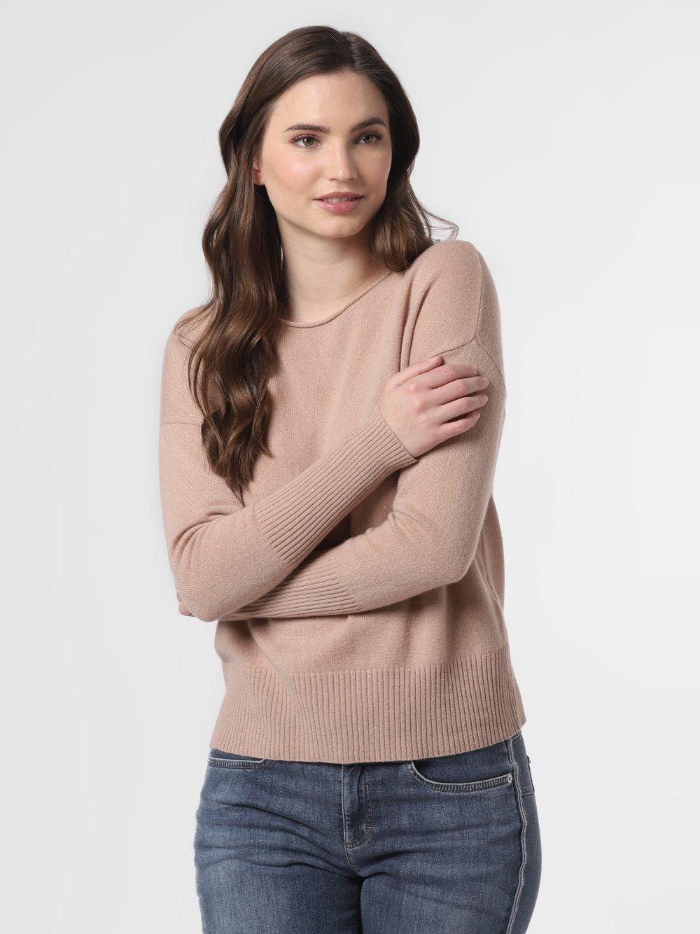 SvB Exquisit – Sweter damski z czystego kaszmiru, beżowy Van Graaf 461340-0002