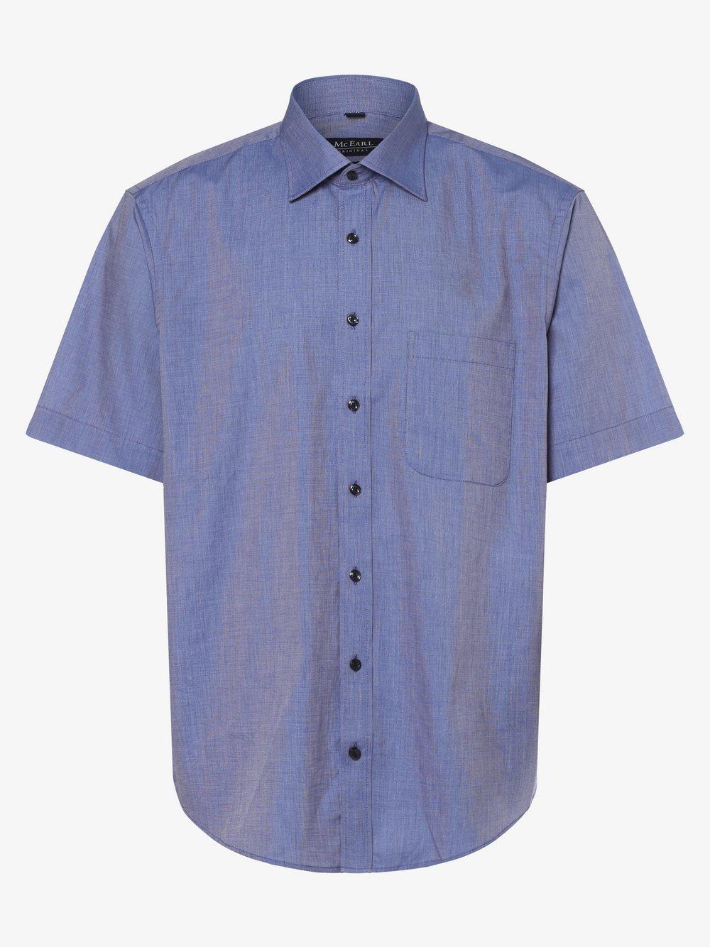 Mc Earl – Koszula męska, niebieski Van Graaf 461390-0004-03940