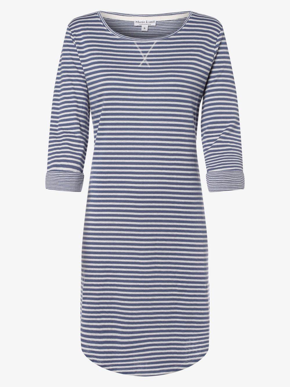 Marie Lund - Damska koszula nocna, niebieski