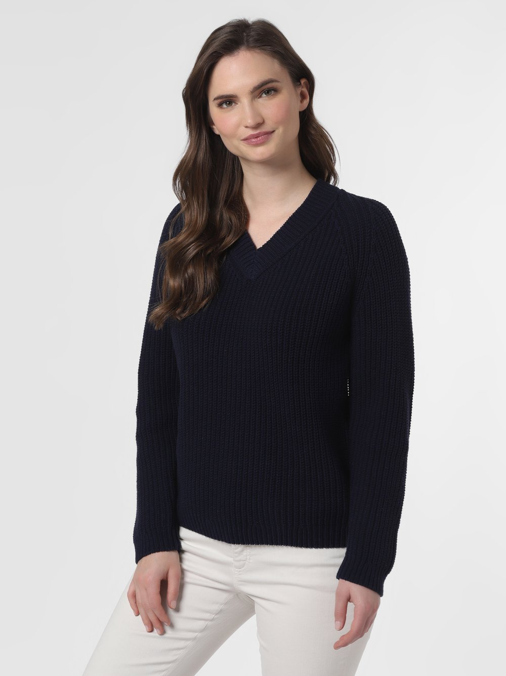 SvB Exquisit – Sweter damski, niebieski Van Graaf 461480-0001-00360