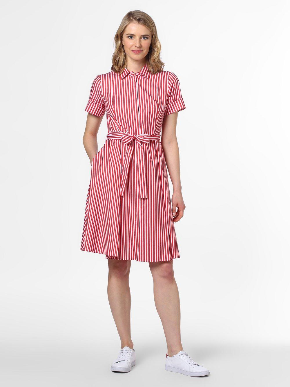 HUGO - Sukienka damska – Ekaliana, czerwony