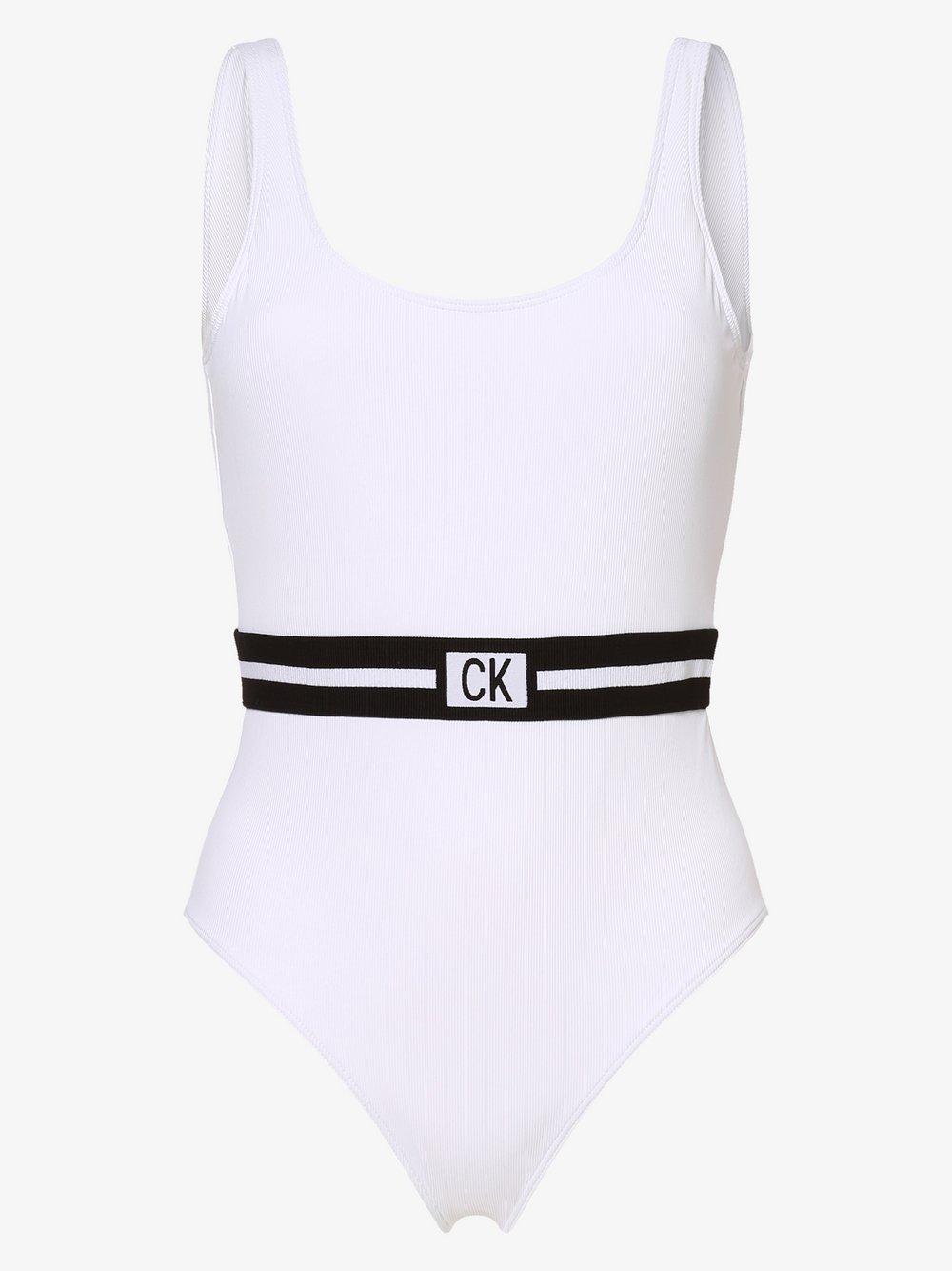 Calvin Klein - Damski strój kąpielowy, biały