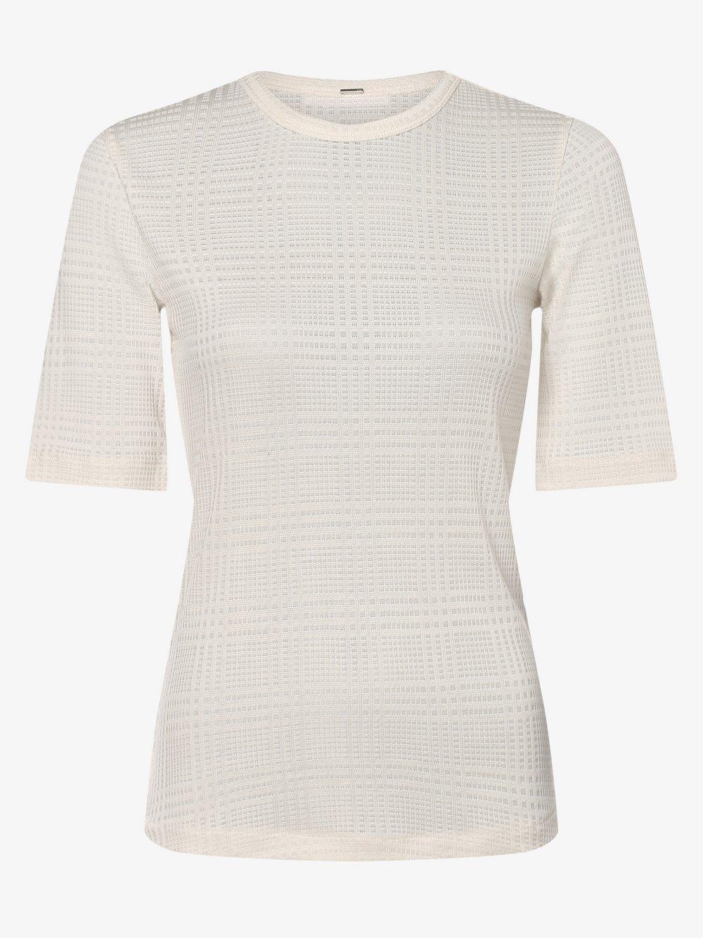 BOSS - T-shirt damski – Egrada, biały