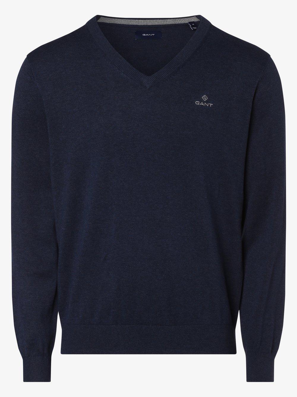 Gant - Sweter męski, niebieski
