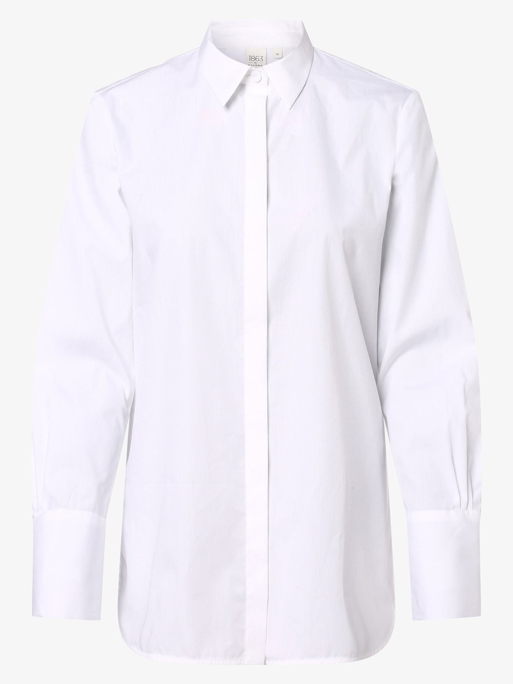Eterna Premium – Bluzka damska, biały Van Graaf 461800-0001