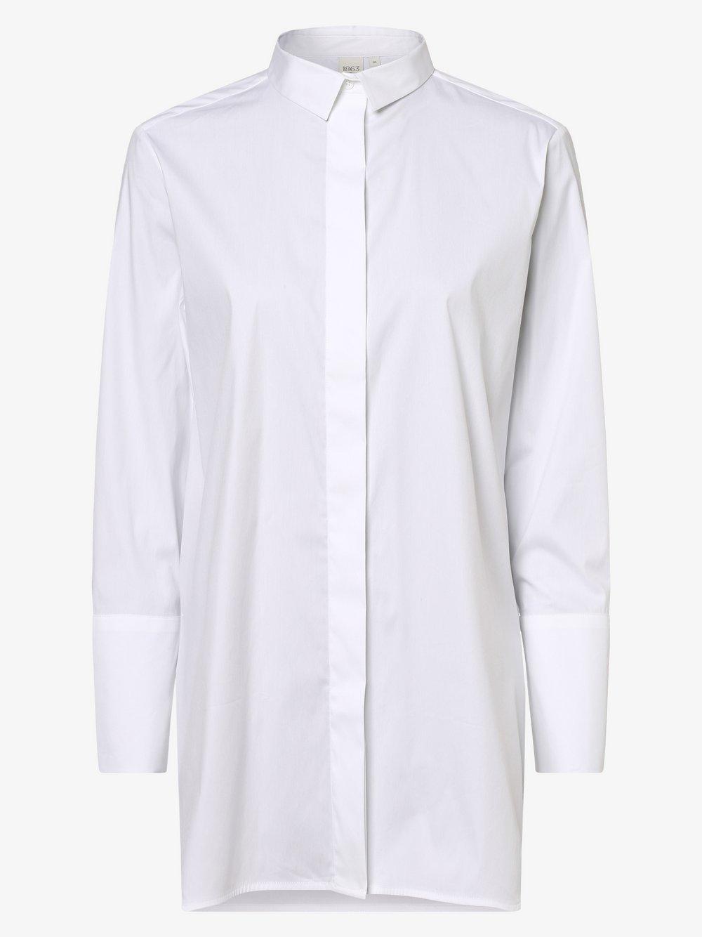 Eterna Premium – Bluzka damska, biały Van Graaf 461802-0001-00420