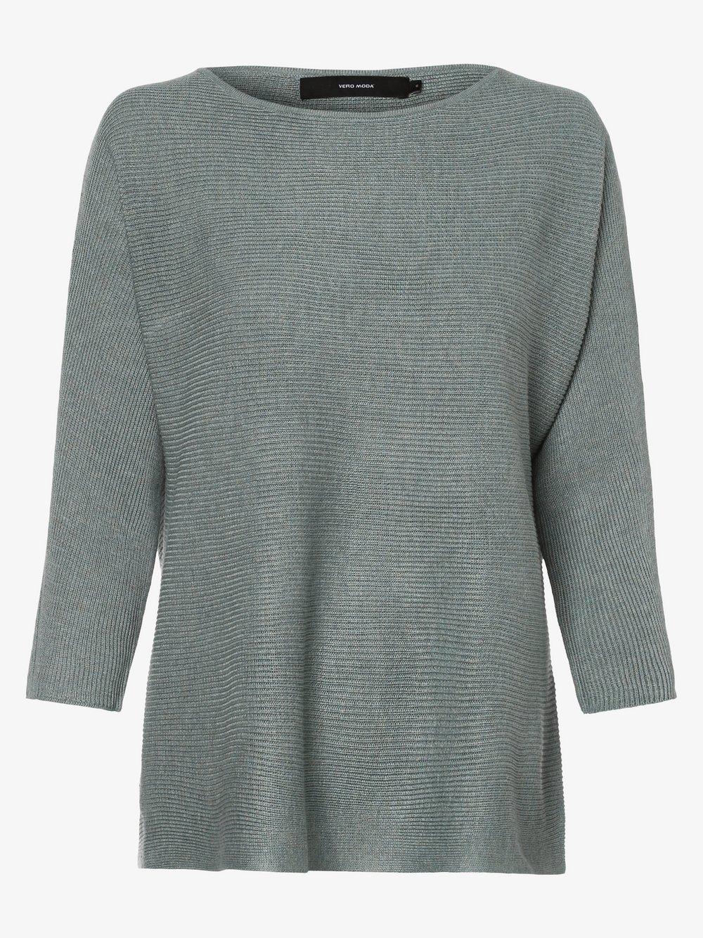 Vero Moda - Sweter damski – Vmnora, szary