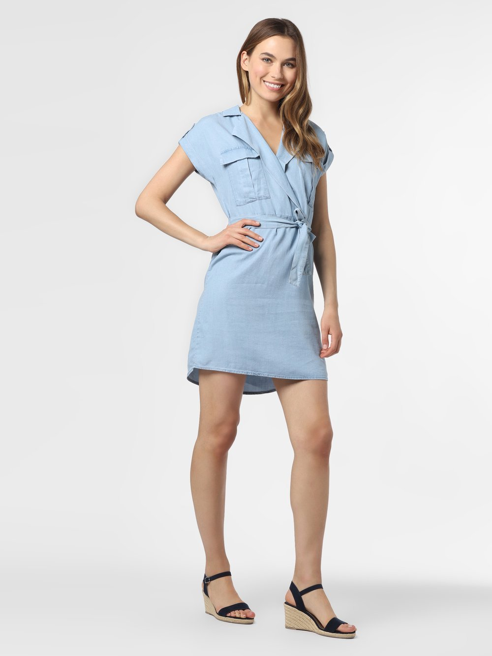 Noisy May - Sukienka damska – Vera, niebieski