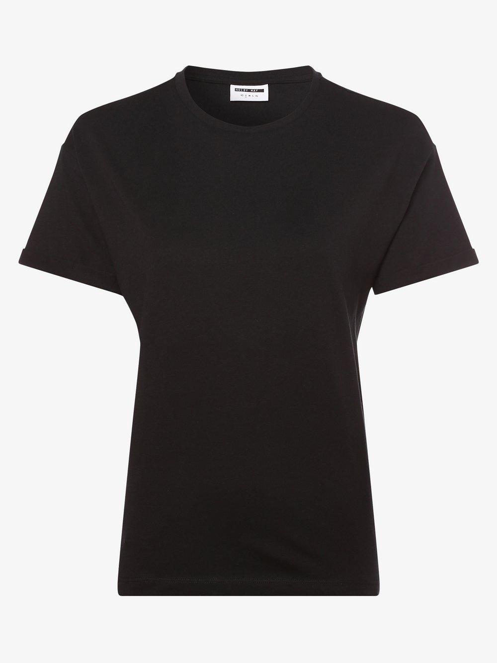Noisy May - T-shirt damski – Nmbrandy, czarny Noisy May