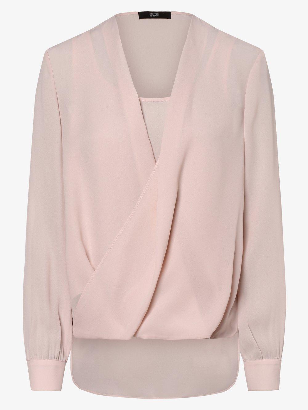 STEFFEN SCHRAUT – Bluzka damska, różowy Van Graaf 462154-0002-00360