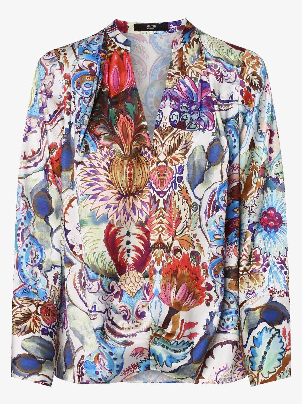 STEFFEN SCHRAUT – Bluzka damska, biały Van Graaf 462166-0001-00380