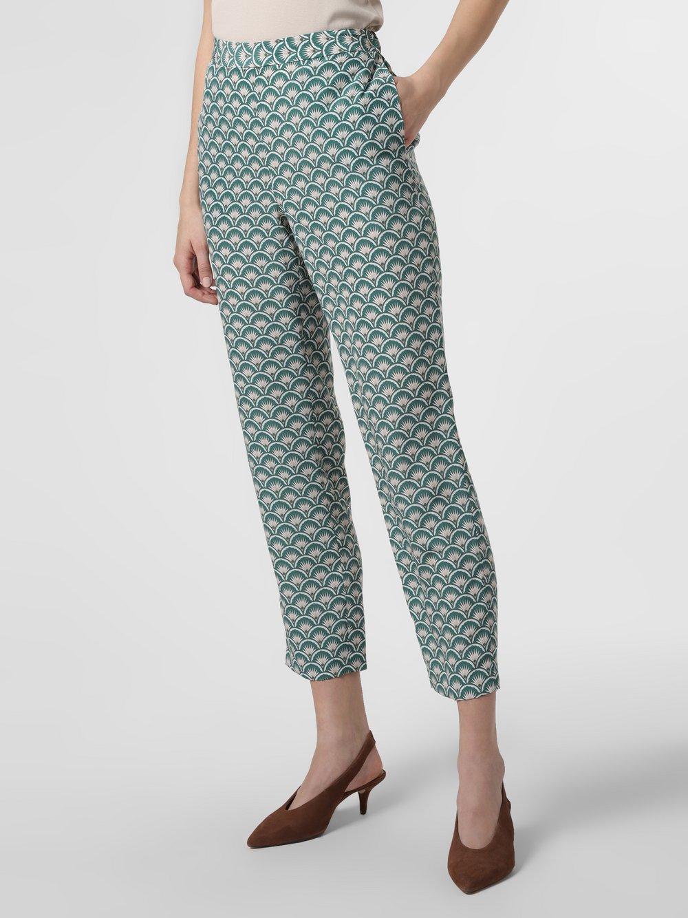 STEFFEN SCHRAUT – Spodnie damskie, zielony Van Graaf 462210-0001