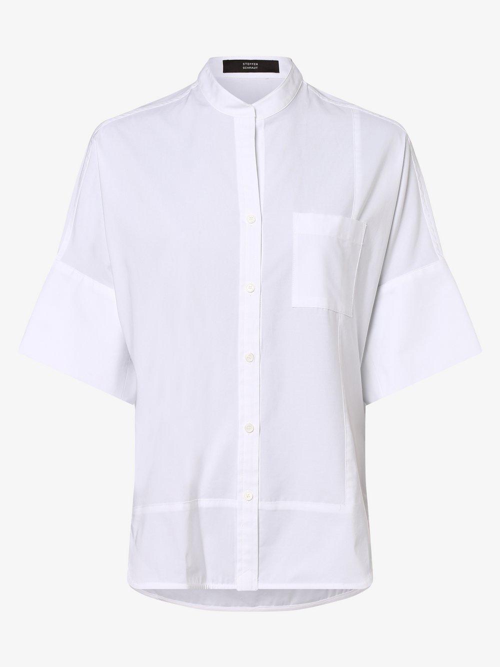 STEFFEN SCHRAUT – Bluzka damska, biały Van Graaf 462216-0001