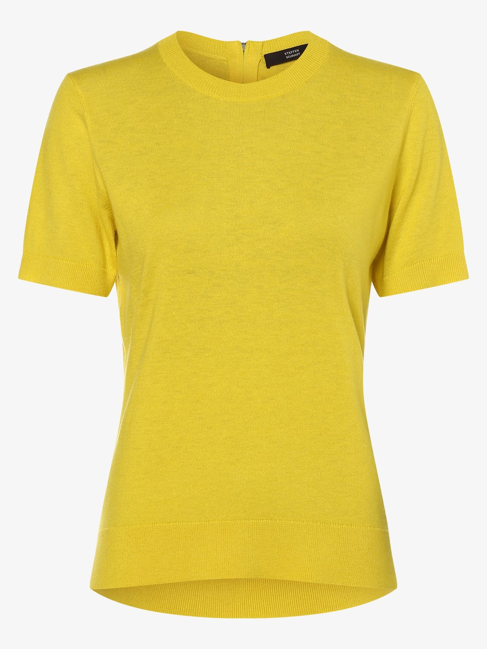 STEFFEN SCHRAUT – Sweter damski z dodatkiem kaszmiru, żółty Van Graaf 462228-0001